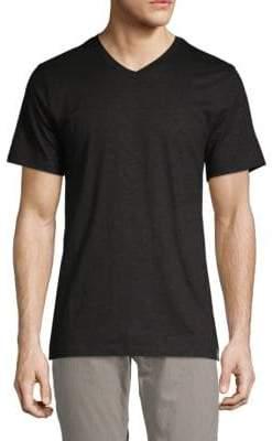 DKNY Short-Sleeve V-neck Tee