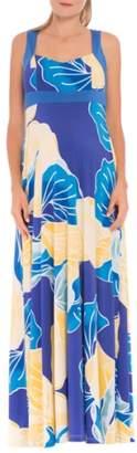 Olian 'Sharon' Maternity Maxi Dress