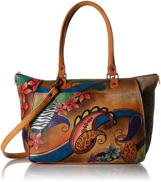 Anuschka Anna by Handpainted Leather Large Tote