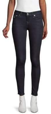 True Religion Halle Super-Skinny Leg Flap-Pocket Jeans