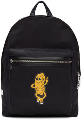 Kenzo Black Logo Backpack $295 thestylecure.com