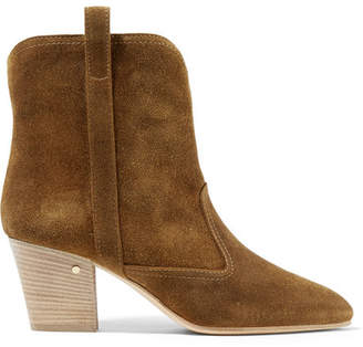 Laurence Dacade Sheryll Suede Ankle Boots - Camel