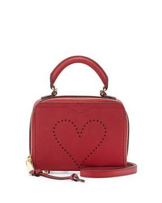 Rebecca Minkoff Love Perforated Box Crossbody Bag $175 thestylecure.com