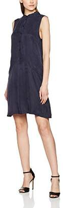 Nümph Women's BENIA Dress, Blue Dark Sapphire