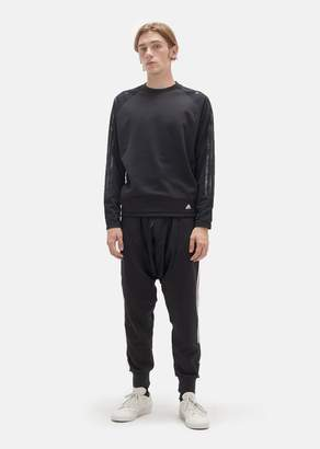 Adidas x Kolor Hybrid Crewneck Top Black