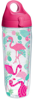Flamingos Tervis Tumbler Sun and Surf Water Bottle 24 oz. Plastic