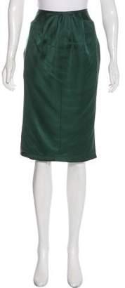 Nina Ricci Knee-Length Silk Skirt w/ Tags