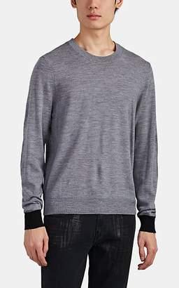 ATM Anthony Thomas Melillo Men's Merino Wool Crewneck Sweater - Gray