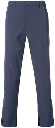 Prada plain tailored trousers