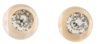 Mauboussin Diamond & Rock Crystal Stud Earrings