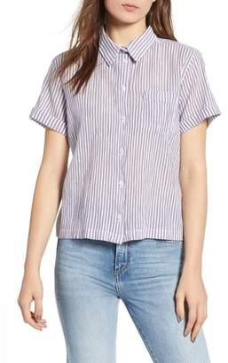 Wrangler Pattern Crop Shirt