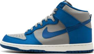 Nike Dunk High Medium Grey/Team Royal