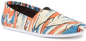 Toms Paint Print Slip-On Shoe
