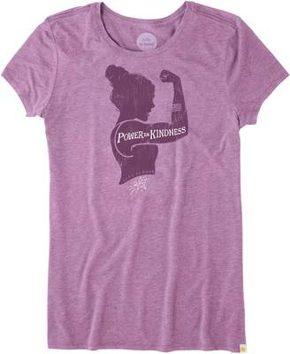 Life is Good Power in Kindness Aly Raisman Women's Tee