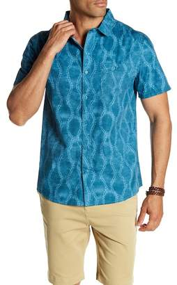 Threads 4 Thought Batik Organic Cotton Short Sleeve Regular Fit Shirt