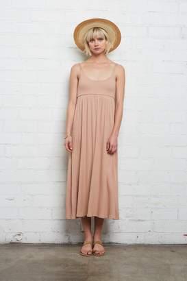 Rachel Pally Rib Bellatrix Dress - Maple Sugar