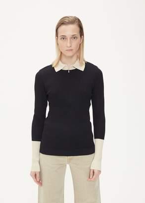 Hope Long Sleeve Zip Collar Sweater