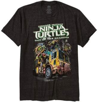 Movies & TV Teenage mutant ninja turtles truck Big Men's graphic tee, 2xl