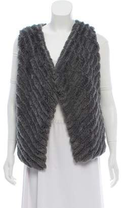 BB Dakota Fur Sleeveless Vest