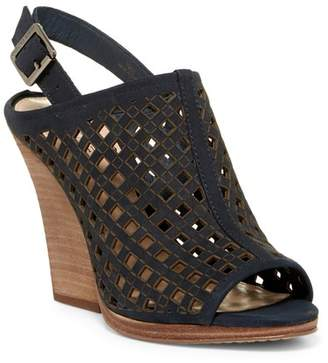 Vince Camuto Janay Diamond Perforated Slingback Sandal