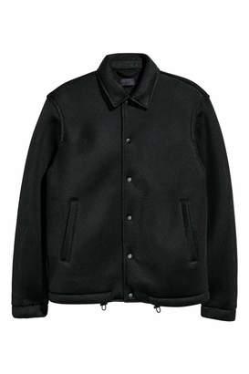 Mesh Shirt Jacket