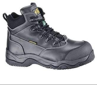 SHOES FOR CREWS 8280H Work Boots,Unisex,8,B,Black,Plastic,PR G0168108