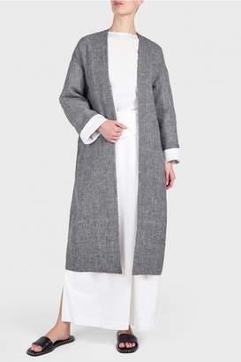 Enfold Linen Glen Coat