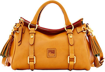 Dooney & Bourke Florentine Leather Mini Satchel Bag