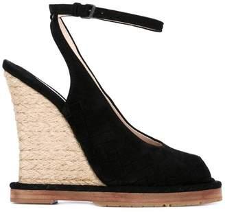 Bottega Veneta wedge sandals
