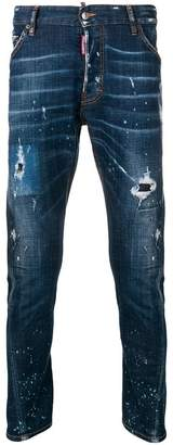 DSQUARED2 drop-crotch slim fit jeans