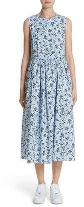 Sofie D'hoore Floral Print Sleeveless Dress