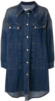 MM6 MAISON MARGIELA denim shirt jacket