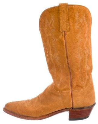 Lucchese Mid-Calf Cowboy Boots