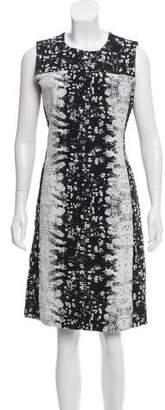 Reed Krakoff Silk Abstract Printed Dress