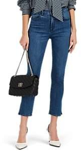 3x1 Women's W3 Luna Mini Split Jeans - Blue