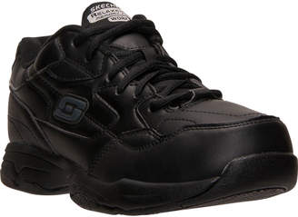 Skechers Men's Relaxed Fit: Felton - Altair Slip-Resistant Wide Width Work Shoes