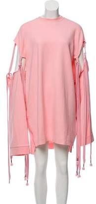 FENTY PUMA by Rihanna Lace-Up Sweatshirt Dress w/ Tags
