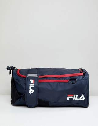 Fila Hollis Medium Backpack Carryall In Navy
