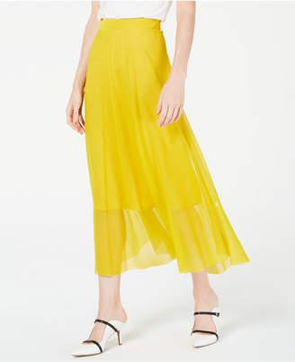 Alfani Pull-On A-Line Midi Skirt