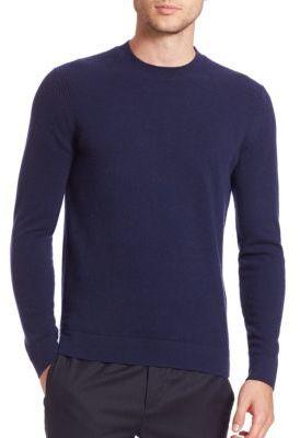 Cashmere Crewneck Sweater $265 thestylecure.com