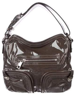 Marc Jacobs Christy Patent Leather Hobo Black Christy Patent Leather Hobo