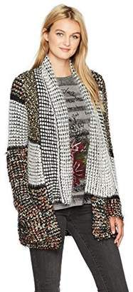 Desigual Women's Arraga Woman Flat Knitted Thick Gauge Jacket