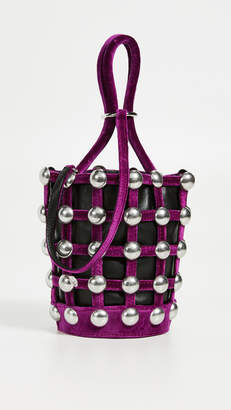 Alexander Wang Roxy Cage Mini Bucket Bag