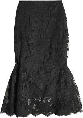 Simone Rocha Tulip Skirt in Lace