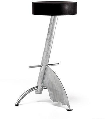 Zeus - platform stool by zeus of italy
