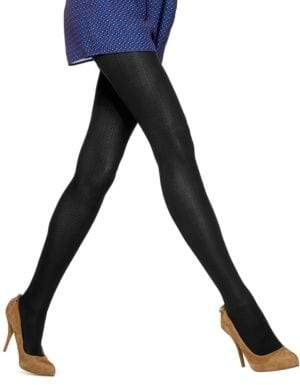 Hue Quilted Chevron Tights