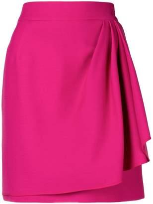 Valentino layer effect mini skirt