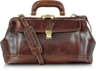 Chiarugi Handmade Brown Leather Professional Doctor Bag