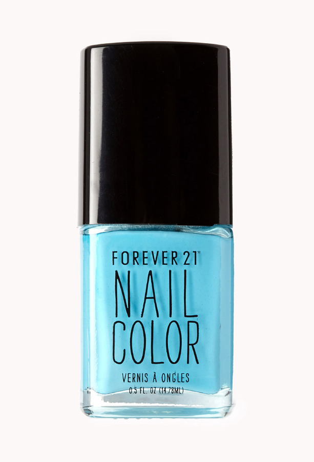 Forever 21 Candy Blue Nail Polish