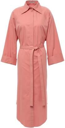 Nina Ricci Cotton-blend Midi Shirt Dress
